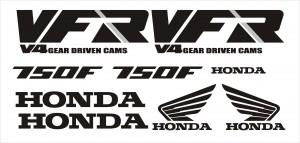Honda VFR 750F matrica szett '86-89