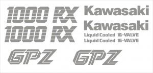 Kawasaki GPZ 1000RX matrica szett