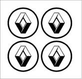 Renault felni közép matrica (digit)