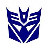 Transformers Álcák matrica