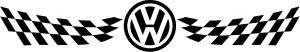 Volkswagen szélvédő matrica