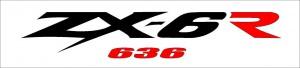 ZX-6R 636 matrica