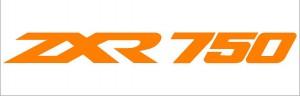 ZXR 750 matrica (M2)