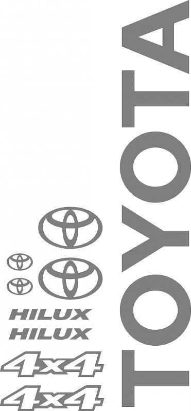 Toyota Hilux matrica szett