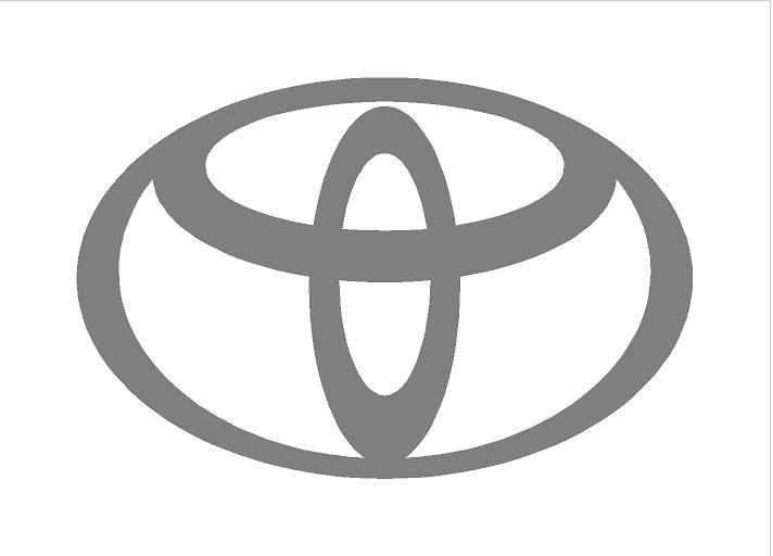 Toyota logó (ovális) (M1)