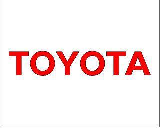 Toyota matrica (kis méret)