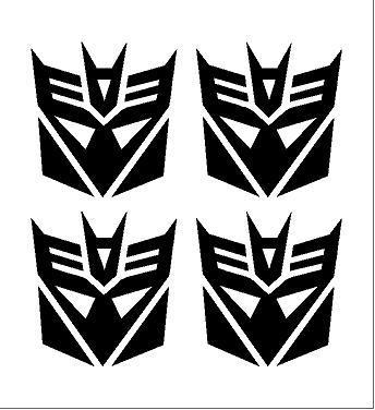 Transformers Álcák felni közép matrica szett