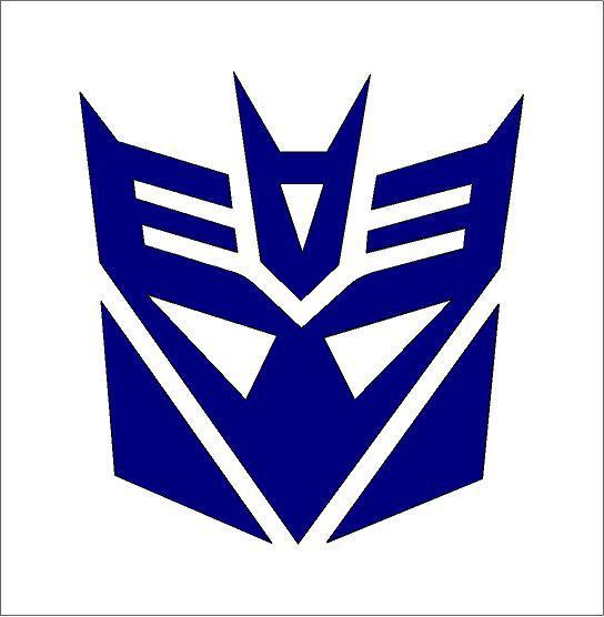 Transformers Álcák matrica (kis méret)
