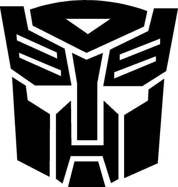 Transformers Autobot matrica (M2)