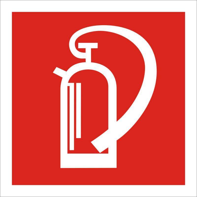 Tűzoltókészülék piktogram matrica
