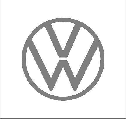 Volkswagen logó matrica 2020 (M1)