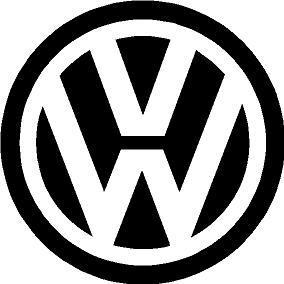 VW logó matrica (100 mm)