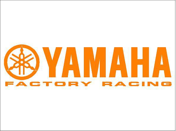 Yamaha factory racing matrica