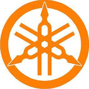 Yamaha kör logó  matrica 3.típ