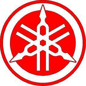 Yamaha kör logó  matrica 4.típ