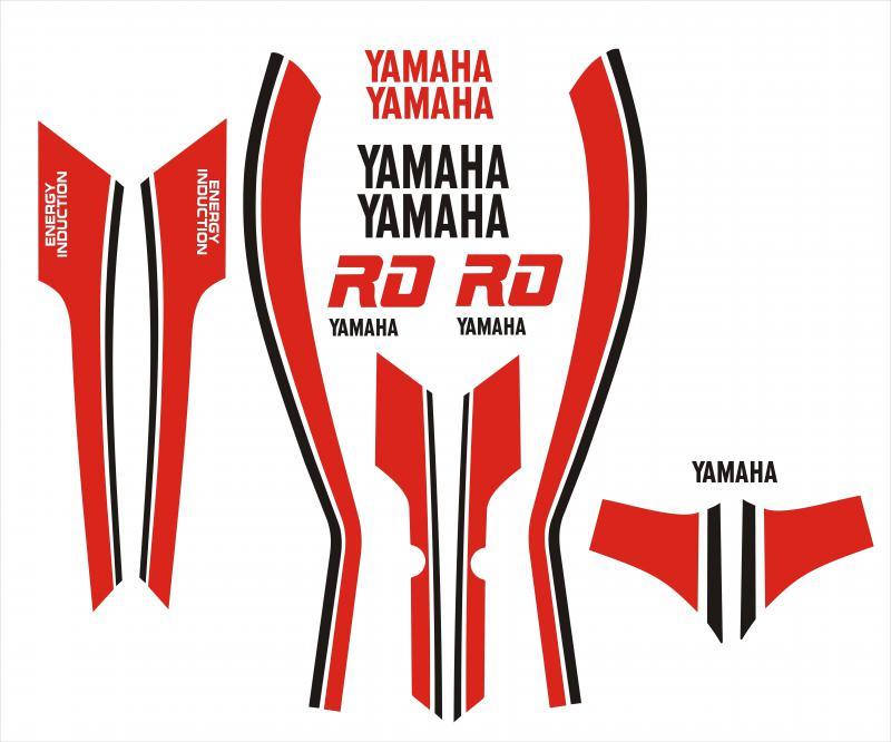 Yamaha RD matrica szett