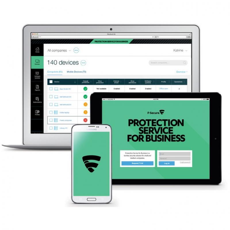 Oktatási kedvezményes F-Secure PSB 100-499 felhasználóig 1 éves előfizetés