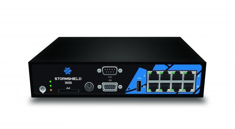 Stormshield SN300 hardveres EU tűzfal egy éves Premium UTM előfizetéssel