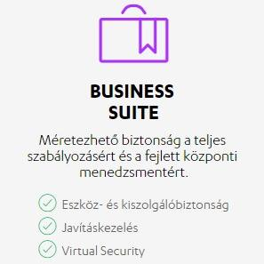 F-Secure Business Suite 5-24 felhasználóig 1 éves előfizetés