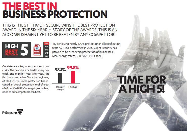F-Secure Internet Security meghosszabbítás üzleti szintű védelmmel, ingyen telepítéstámogatással 2év