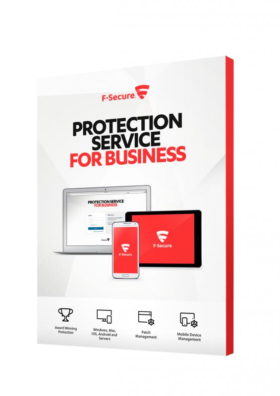 F-Secure PSB PREMIUM, Computer Protection, Server-, Mobile Security 100-499 felhasználóig 1 évre
