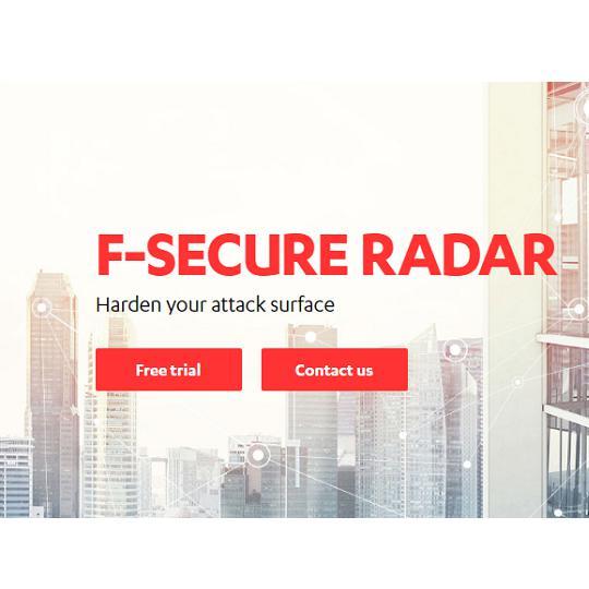 F-Secure Radar sebezhetőség audit megoldás