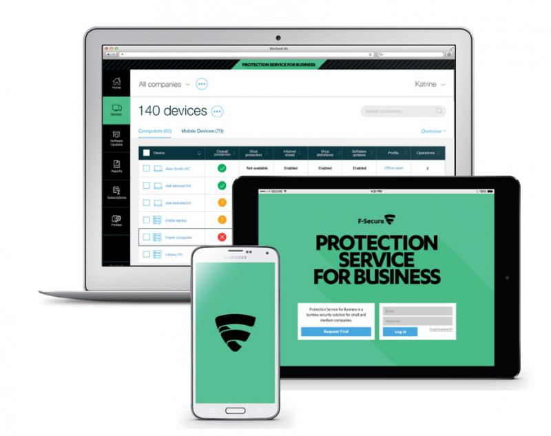 Havidíjas F-Secure Protection Service for Business 100-499 felhasználóig