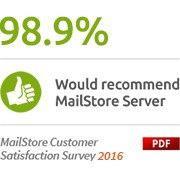 MailStore Server megújítása 50-99 felhasználóra Standard terméktámogatással