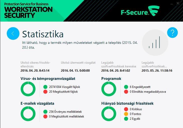 Oktatási kedvezményes F-Secure PSB 5-24 felhasználóig 1 éves előfizetés