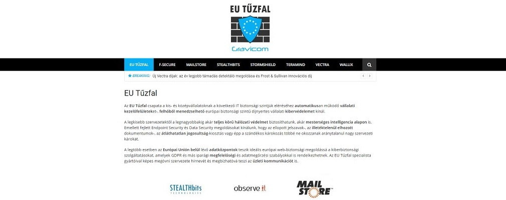 EUtűzfal IT security