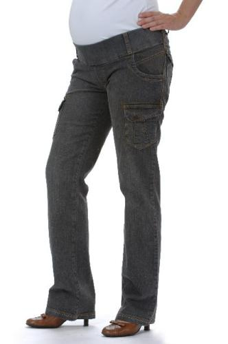 Noppies Maternity Nadrág 80800 055 Grey Denim