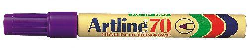 Artline alkoholos filc lila csúcsos EK-70