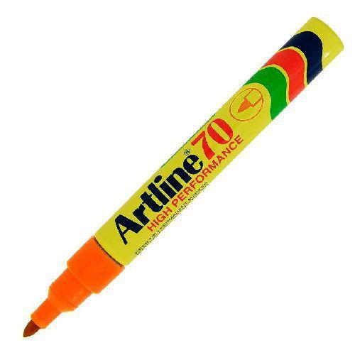 Artline alkoholos filc narancssárga csúcsos EK-70
