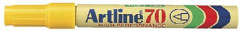 Artline alkoholos filc sárga csúcsos EK-70