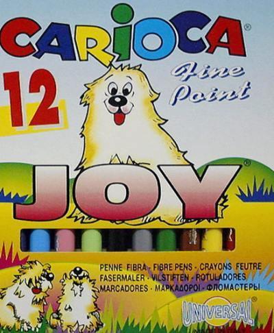 Filctoll Carioca Joy 12 darabos készlet