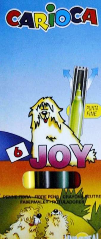 Filctoll Carioca Joy 6 darabos készlet