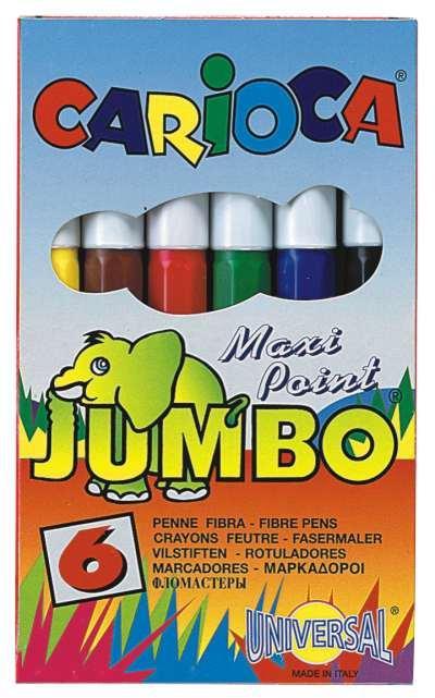 Filctoll JUMBO  6 DB-OS készlet CARIOCA