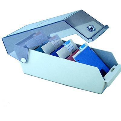 Floppy tartó doboz zárható Eagle 3802