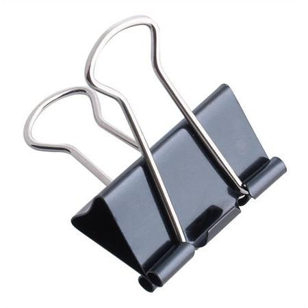 Iratcsipesz Binder csipesz 32 mm fekete
