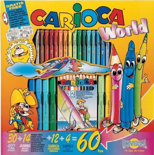Kifestő és szinező készlet 60 darabos Carioca World