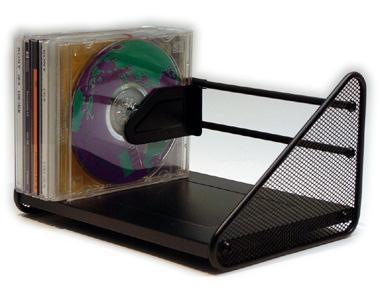 Mesh fémhálós CD állvány DVD állvány Eagle TY120
