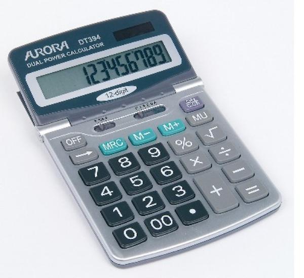 Számológép 12 digites Aurora  DT394