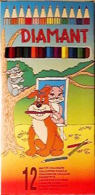 Színes ceruza 12 DB-OS DIAMANT