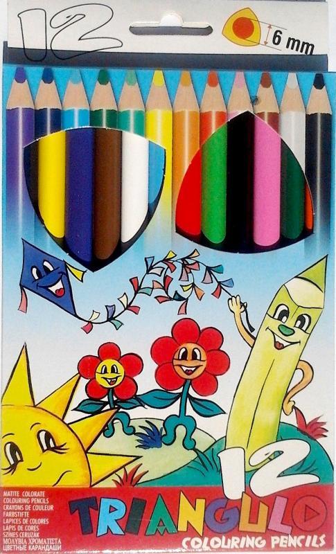 Színes ceruza 12 DB-OS TRIANGULO