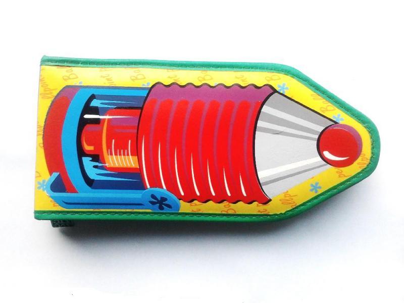Tolltartó ceruza alakú Zig-Zag