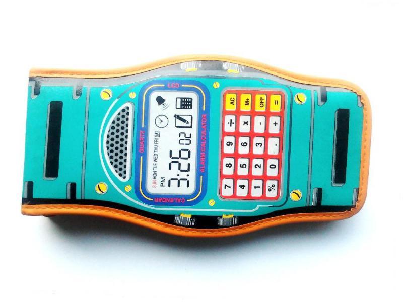 Tolltartó digitális óra alakú Zig-Zag