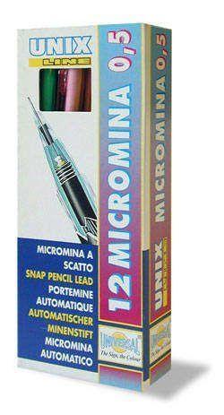 Töltőceruza (pixiron) 0.5 mm Unix Micromina