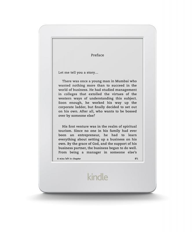 Amazon Kindle 6 4GB Ebook olvasó Fehér csomag