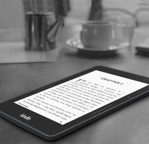 Amazon Kindle Voyage 4GB Reklámmentes Ebook olvasó Csomag