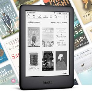 Amazon Kindle 10 (2020) 8GB Ebook olvasó Reklámmentes